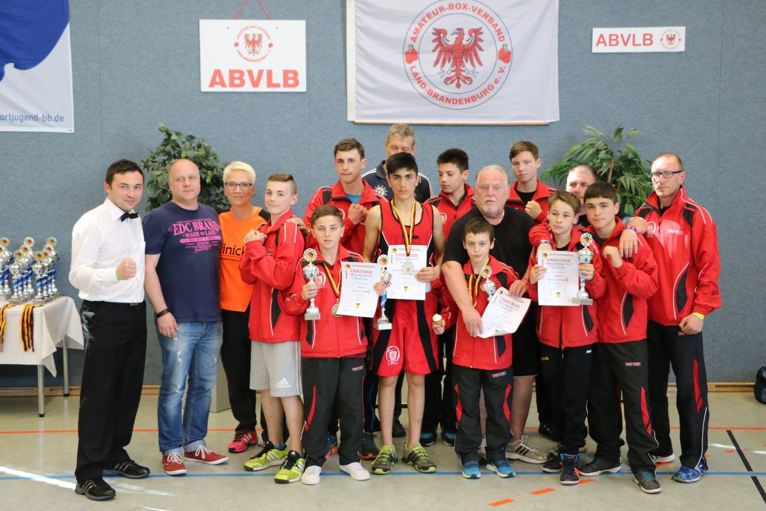 Kadetten DM 2015 in Lindow
