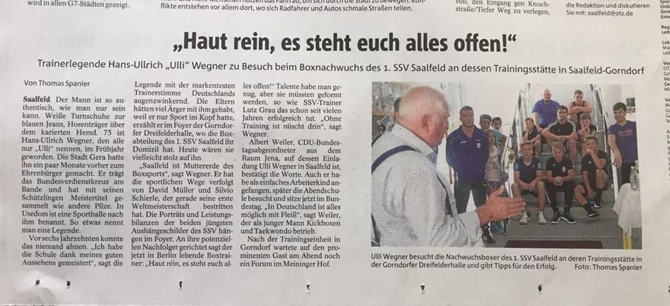 Uli Wegner in Saalfeld 2017-08-30