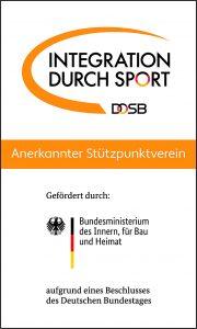 DOSB Integration durch Sport - Anerkanter Stützpunktverein